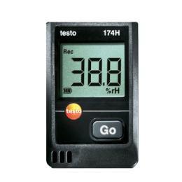 เครื่องวัดและบันทึกค่าอุณหภูมิ ความชื้นสัมพัทธ์  testo 174H