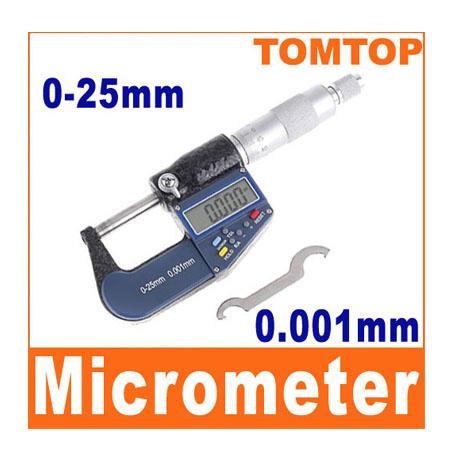 เครื่องวัดความหนา Digital Micrometer (0-25mm)
