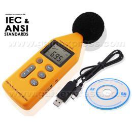 เครื่องวัดเสียง Digital Sound Level SL-814