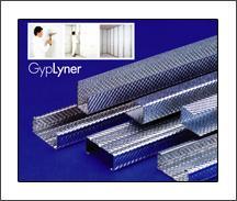 โครงคร่าวเหล็กชุบสังกะสี ระบบผนัง GypLyner