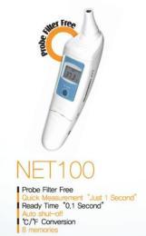 เครื่องวัดอุณหภูมิร่างกายทางหู รุ่น NET-100