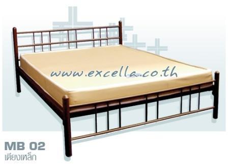 เตียงเหล็ก MB 02