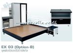 ชุดเฟอร์นิเจอร์ไม้ปาร์ติเกิ้ล EX 03 (Option-B)