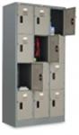 ตู้ล็อคเกอร์ 12 ประตู (มอก) , LK-012 (000039)