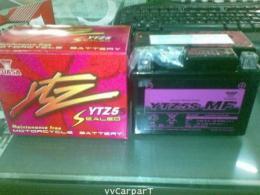 แบตเตอรี่แห้ง YUASA YTZ5s สำหรับรถมอเตอร์ไซค์