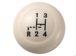 ปุ่มหัวเกียร์ สีงา 12 มม. Ivory Shift Knob, 12 mm