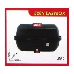 กล่องท้ายรถ GIVI รุ่น E20N Easybox / 39 ลิตร