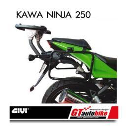 ตะแกรงติดกล่องข้าง สำหรับ Kawa Ninja 250 รุ่น E21,E41