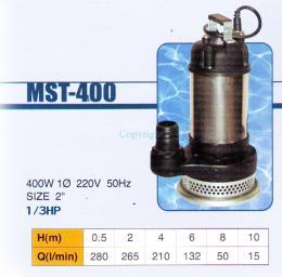 ปั๊มแช่ รุ่น MST-400 เสื้อสแตนเลส