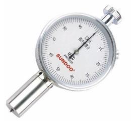 เครื่องวัดความแข็งยาง ชนิด A LX-A durometer
