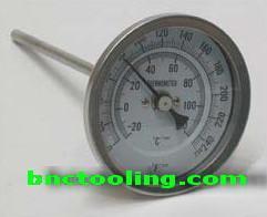 เครื่องวัดอุณหภูมิ ชนิดเข็มขนาด 6x12 นิ้ว