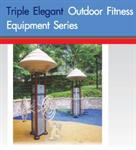 เครื่องออกกำลังกายกลางแจ้ง / Triple Elegant Outdoor Fitness