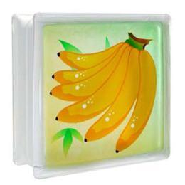 บล็อคแก้ว กล้วย/หยาดเพชร