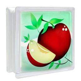 บล็อคแก้ว แอปเปิ้ล/หยาดเพชร