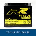 RR YT12-JS YTX12-BS แบตเตอรี่แห้ง มอเตอร์ไซต์ motorcycle battery