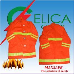 เสื้อคลุมดับเพลิงผ้าใบในประเทศ