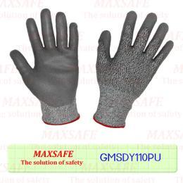 ถุงมือกันของมีคมเคลือบ PU (LEVEL5- ระดับ 5)
