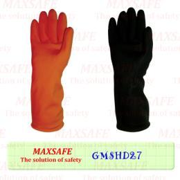 ถุงมือยางอุตสาหกรรมชนิดหนา