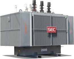 หม้อแปลงไฟฟ้า2000 kVA 3 Phase 22 KV