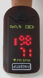 เครื่องวัดอ๊อกซิเจนปลายนิ้ว(MD300F)