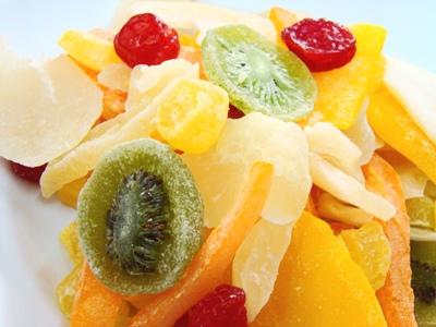 ผลไม้รวมอบแห้ง (Dried Mixed Fruit)