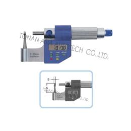 ไมโครมิเตอร์ ดิจิตอล แบบผิวโค้ง MW255-DDL