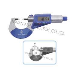 ไมโครมิเตอร์ ดิจิตอล แบบหน้าสัมผัสเล็ก MW260-DDL