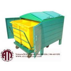 ถังขยะแยกประเภทขนาด500ลิตร