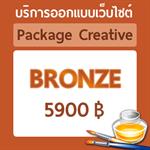 ออกแบบเว็บไซต์ แพ็คเกจ Bronze