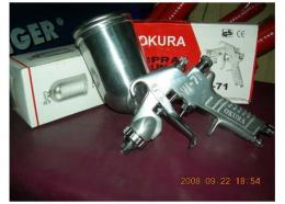 กาพ่นสี OKURA W-71 (รุ่นกาบน)
