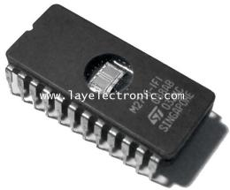 ชิป IC EPROM 2716 (SGS-THOMSON)