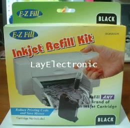 หมึกเติม Printer Inkjet ทุกยี่ห้อ ชุดดำ
