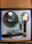 โคมไฟหน้า สปอตไลท์ LED 20/12 W แปลงใส่มอไซค์ (M 056)