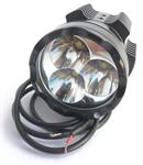 สปอร์ตไลท์  LED CREE T6 x 3 30W 12V กันน้ำ