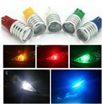 ไฟ LED T10 เลนส์นูน 5-7w (คู่)