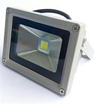 ฟลัดไลท์ LED 12-24V 10W สีขาว 6000k
