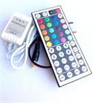 กล่องคุมไฟริบบิ้น RGB +รีโมท 44 คีย์