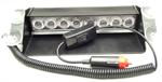 ไฟฉุกเฉิน LED ฟ้า-แดง 12V 8 X 3W แบบแปะกระจกหน้ารถยนต์ (418)