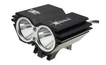 ไฟหน้าจักรยาน LED CREE XML-2T6 2400 lumen (1084)