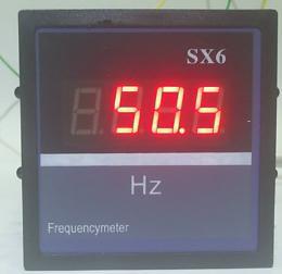 มิเตอร์วัดความถี่แบบดิจิตอล รุ่น SX6 0