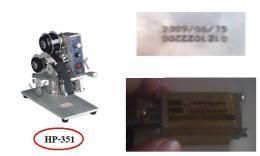 เครื่องพิมพ์วันที่ รุ่น HP-351