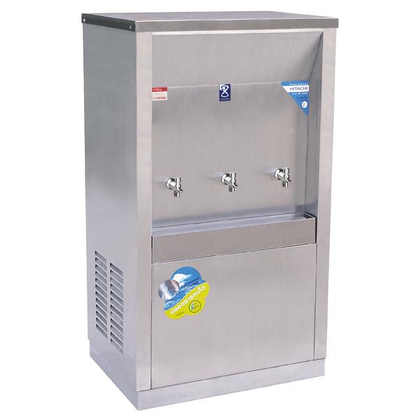 ตู้ทำน้ำเย็น แบบต่อท่อ 3 ก๊อก รุ่น MC-3PW