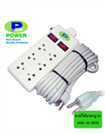 ปลั๊กไฟฟ้า Universdl ยี่ห้อ P-TECH