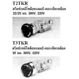 สวิทซ์กดพร้อมแลมป์ T2TKR/T3TKR