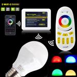 หลอดไฟ LED ไร้สาย Wifi Bulb เปลี่ยนเฉดแสงโทนขาวเป็นโทนวอร์มไวท์