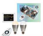 หลอดไฟ LED ไร้สาย Wifi Bulb เปลี่ยนเฉดแสงโทนขาวเป็นโทนวอร์มไวท์+Wifi Remote
