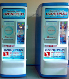 ตู้น้ำดื่มหยอดเหรียญ ระบบ RO+UV