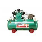 ปั๊มลมลูกสูบ somax SC-100 ขนาด 10 HP ถัง 520 L.