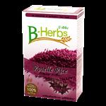 ข้าวหอมมะลิเคลือบกระเจี๊ยบ/Jasmine rice coated with Roselle (1kg.)