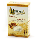 ข้าวเหนียวสมุนไพรขมิ้นชัน/Glutinous rice coated with Turmeric (1kg.)